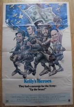 Kellys Heroes (1970) Film Poster Spirit of '76 Style - US One Sheet